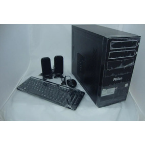 Desktop Amd Philco A8-3800 4gb,500hd,+ Teclado+mouse+cx Som