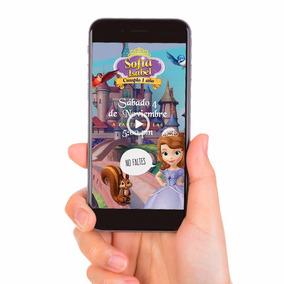 Vídeo Invitación Digital Princesa Sofia