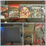 Subasto Playstation 3 De 160 Gb +2 Mandos Inalamb +7 Juegos