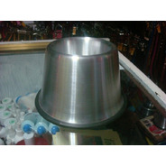 2 Platos Aluminio Perro Orejon Uno De 500ml Y Uno De 1100ml