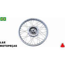 Roda Montada Moto Xtz 125 18x185 Traseira Cromada