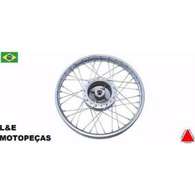 Roda Montada Xtz 125cc 18x185 Traseira Cromada