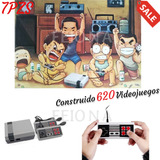 Miniconsola Retro Clásica Con 620 Juegos Con 2 Controles