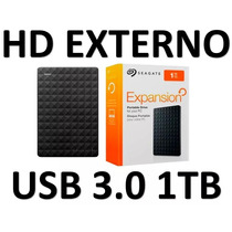 Hd Externo 1 Tera Slim Usb 3.0 Seagate Expansion