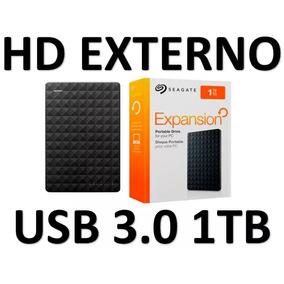 Hd Externo 1 Tera Slim Usb 3.0 Seagate Expansion