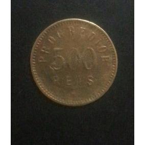 Ficha De 500 Reis - Progredior- Bavaria - São Paulo (rara)
