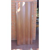 Puerta Plegadiza Espesor Medida 11mm 076x198 Cm Zona Norte