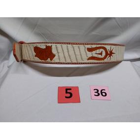 Cinturon Gallos Vaquero M.5 Talla 36 - El Güero -