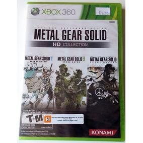 Jogo Metal Gear Solid - Hd Collection Xbox 360 Novo