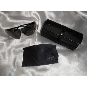 Elegante,raríssimo Óculos Sol Mask Unissex Montblanc,itália