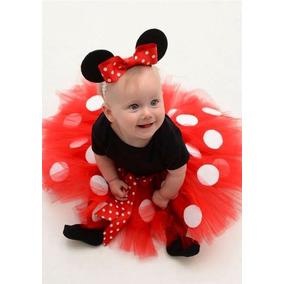 Tutu Minnie Para Bebes Recien Nacidas.