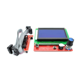 Controlador Gráfico Painel De Impressora 3d Reprap Com Lcd