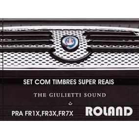 Expansão Roland Set Giulietti Fr3x, Fr7x