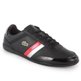 Lacoste Giron Red And Black