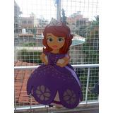 Piñata Infantil En Goma Eva Princesa Sofía, Violetta