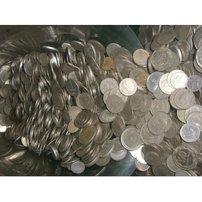 Monedas Antiguas De Niquel Y Niqueladas- X Kilo !oferta!