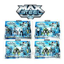 Boneco Max Steel Turbo Velocidade - Pronta Entrega Promoção