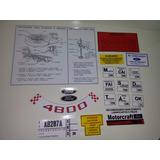 Kit De Adesivos Para Ford Galaxie 500 1967 1968 1969 67 68