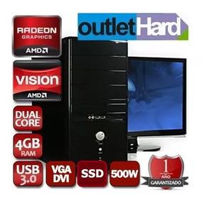 Pc Computadora Nueva A4 4000 Dual 4gb Ssd 120gb San Miguel