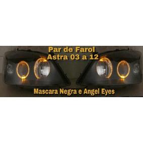 Par Farol Astra 03/13 Mascara Negra E Angel Eyes.