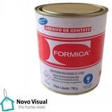 Adesivo De Contato Formica 750g Cola De Marceneiro Sapateiro