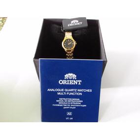 Reloj Orient Cuarzo Dama Fubg1003b0 Gold |watchito|