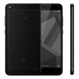 Cel Xiaomi Redmi 4x Dual Sim 32gb Preto Original Oferta Novo
