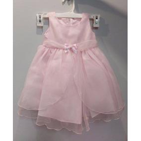 Hermoso Vestido Rosa Princesa Cumpleaños Fiesta Envio Gratis