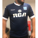 Camiseta Remera Racing Club Suplen Tipo Orig Azul Kappa 2017