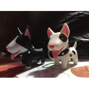 Llavero Bull Terrier Únicos Pirata Y Negro/con Blanco