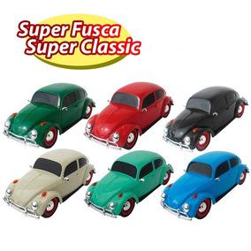Fusca Carrinho Poliplac Miniatura Super Classic Infantil