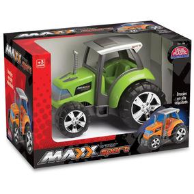 Carrinho Maxx Trator Sport - Usual Plastic