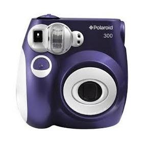 Cámara Instantánea Polaroid 300 Analógica Púrpura Imprime