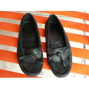 Zapato Mocasin Prune Nº 36 Cuero