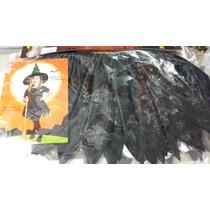 Pollera Míni De Bruja Ideal Para Halloween