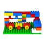 Brinquedo Blocos De Montar 100 Peças Pedagógico Educativo