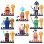 Lego Dragon Ball 8 Bonecos Brinquedo De Coleção Piccolo Goku