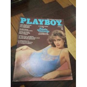 Revista Playboy Tassia Camargo 1982 Com Pôster