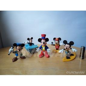 Lote De 5 Figuras De Mickey Mouse Disney Dy56