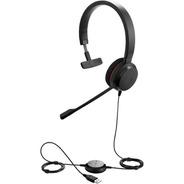 Auricular Headset Jabra Evolve 20 Mono Usb Call Center Jazz Pc Soluciones Multimediales Para Empresas
