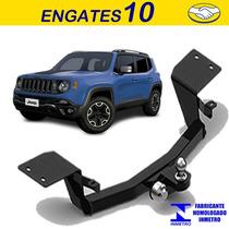 Engate Reboque Jeep Renegade Sem Furo Facil Instalação