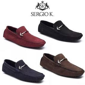 Sapatênis Sapato Mocassim Masculino Sergio K