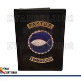 Carteira Pastor Evangélico Luxo (logo Jesus) 03