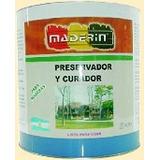 Preservador Y Curador Insecticida Para Madera 10 L Maderin