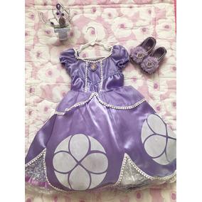 Disfraz Princesa Sofia Con Accesorios