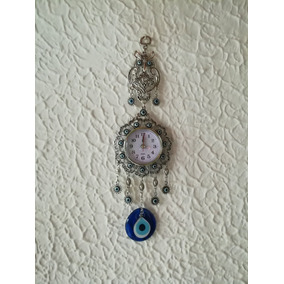 Mano De Fatima Ojo Turco Hamsa Mundo Hindu Reloj