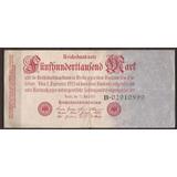Alemania 1923 Billete 500000 Marcos Usado