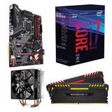 Combo I7 8700k + Gigabyte Z370 Gaming 3 + 2x8gb + Cm 212 8va