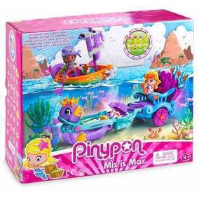 Pinypon Carruaje De Sirenas Y Barco De Piratas Pp3367 R4312