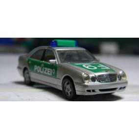 Miniatura Mercedes Benz Classe E Policia Ho 1:87 Herpa